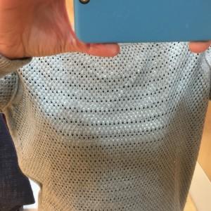 GAP Perforated Sweat_close