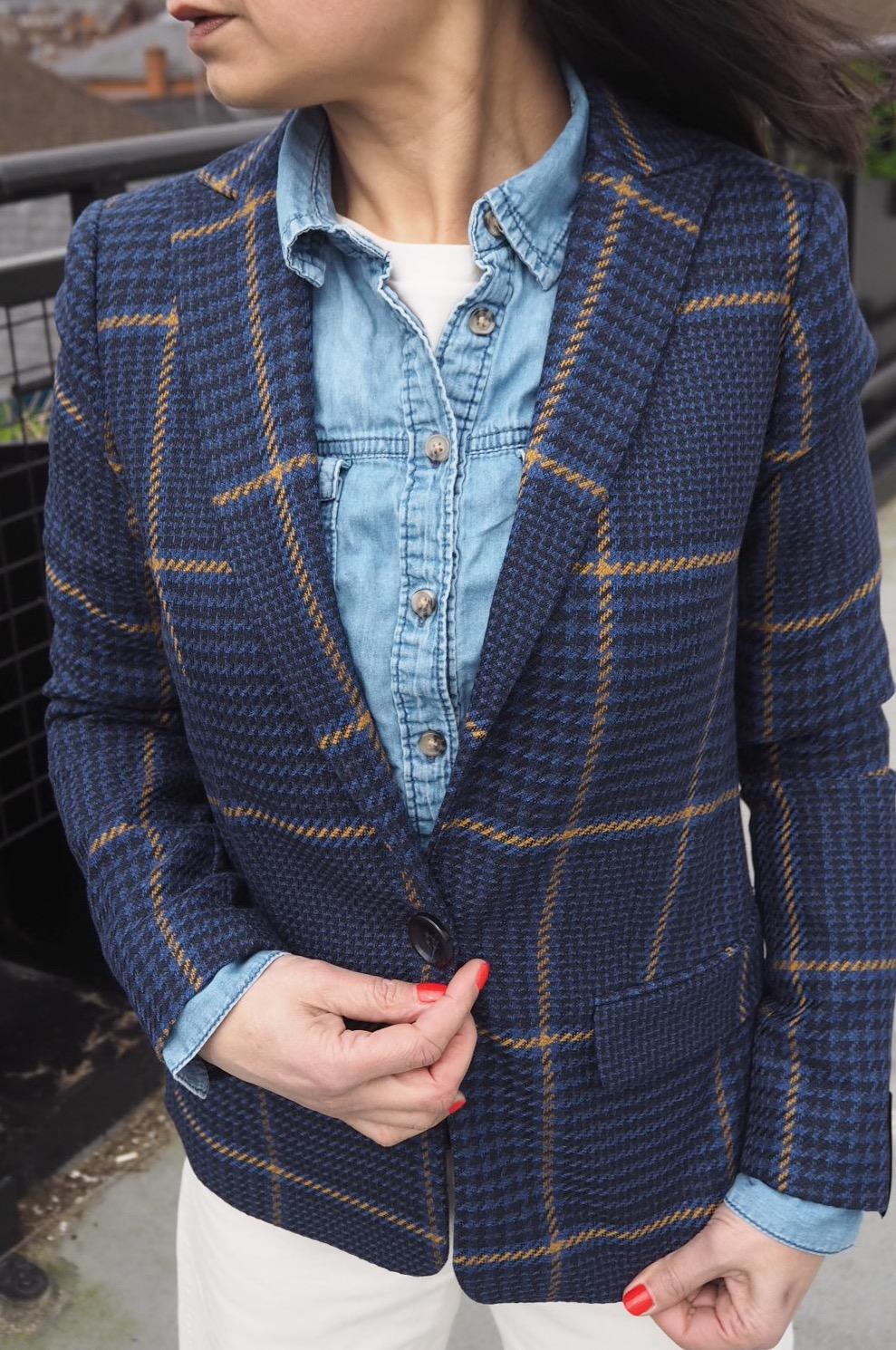 ...as it's Blue Check namesake... an altogether preferable fit!