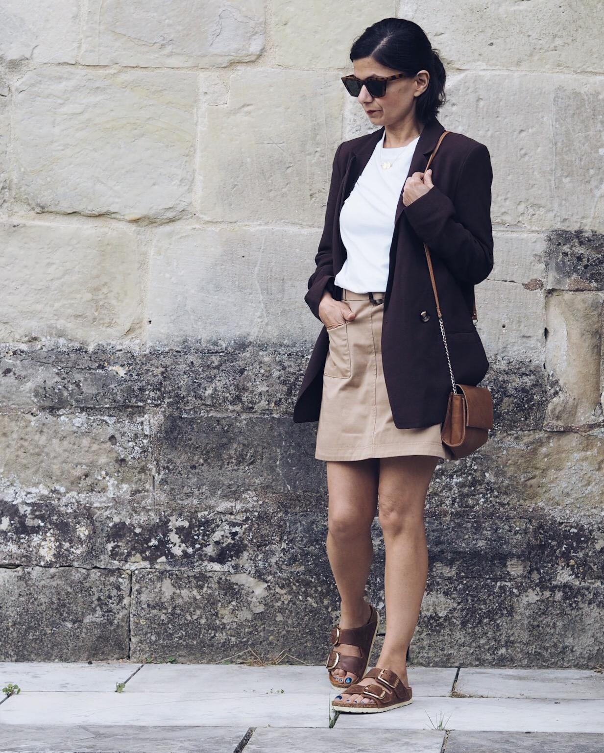 Preloved Alexa Chung safari skirt